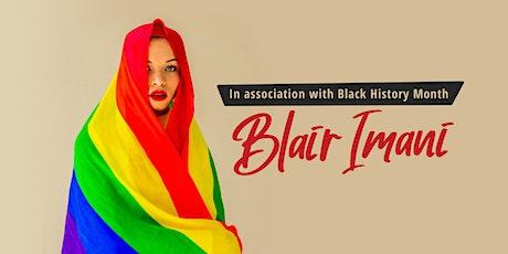 Blair Imani tickets