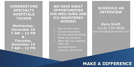 Registered Nurse RN Hiring Event! tickets