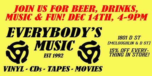 Drink This Holiday Music Sale!