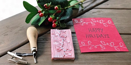 Holiday Block Printing Workshop tickets