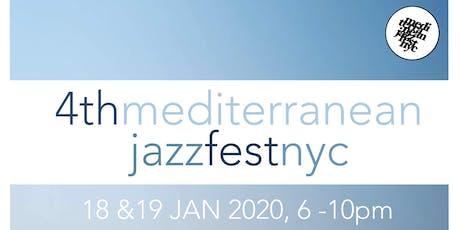 4th Mediterranean Jazz Festival (Sunday Tickets Only) tickets