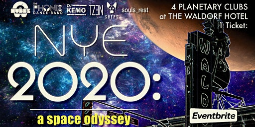 NYE 2020: A SPACE ODYSSEY at The Waldorf Hotel