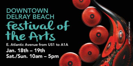 31st Annual Downtown Delray Beach Festival of the Arts tickets