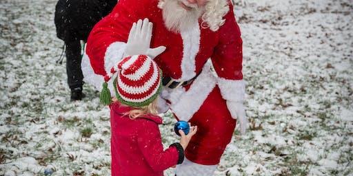 Ornament Hunt & Visit with Santa