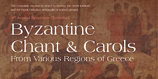 Byzantine Chant & Carols From Various Regions  of Greece