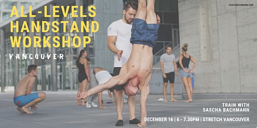 All-Levels Handstand Workshop