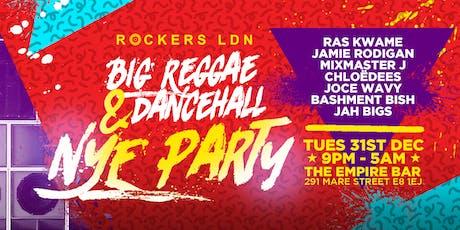 Big Reggae & Dancehall NYE Party tickets