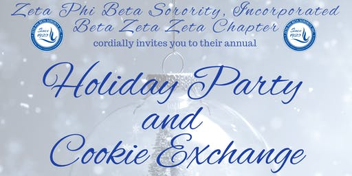 Zeta Phi Beta Sorority, Inc. Beta Zeta Zeta Chapter Holiday Party