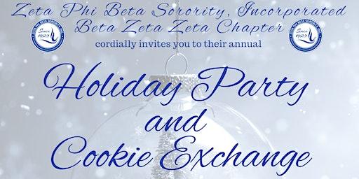 Zeta Phi Beta Sorority, Inc. Beta Zeta Zeta Chapter Holiday Party