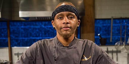 Food Network's Chopped Champion Chef Rashad Pop-up Food Truck Tour
