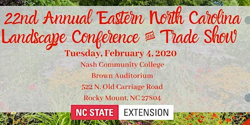 Eastern North Carolina Landscape Conference and Trade Show