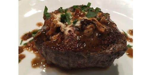 Filet Mignon/Shallot Sauce  & Scallops (03-28-2020 starts at 6:30 PM)