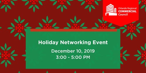 ORRA Commercial Council Holiday Networking Event