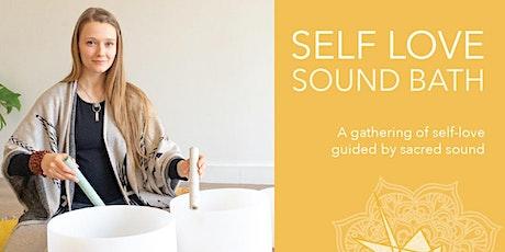 Self Love Sound Bath  |  Friday, December 13th  |  7:30-9:00pm tickets