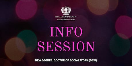 Info Session: Doctor of Social Work (DSW) tickets