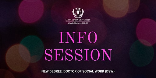 Info Session: Doctor of Social Work (DSW)