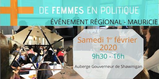 Des municipalités engagées pour plus de femmes en politique - Mauricie