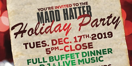 Customer Appreciation Holiday Party at Madd Hatter Hoboken tickets