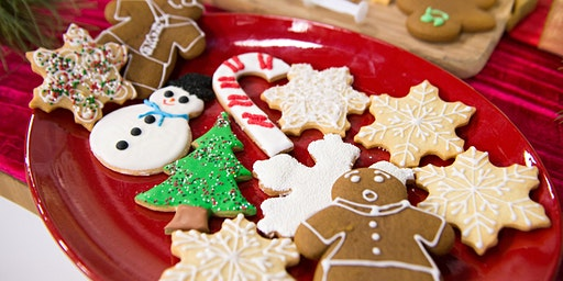 Baby's Ugly Holiday Sweater Cookie Decorating Party!