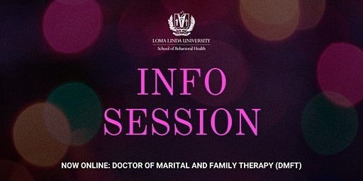 Info Session: Doctor of Marital and Family Therapy (DMFT)