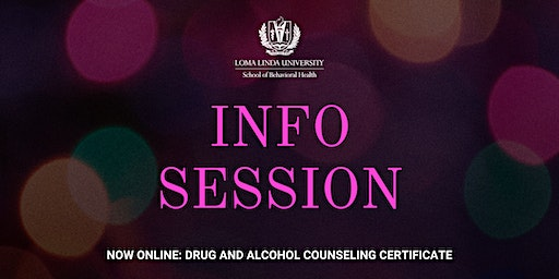 Info Session: Drug and Alcohol Counseling Certificate