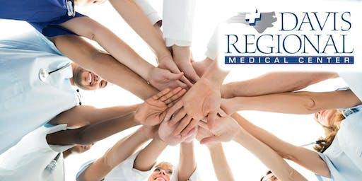 Drop In Career Fair at Davis Regional Medical Center