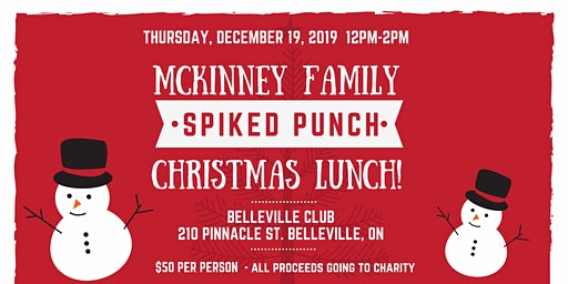 McKinney Family Xmas Spiked Punch Lunch
