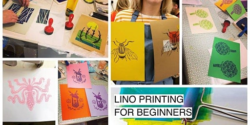Lino Printing for Beginners Workshop - Glasgow Craft Workshop