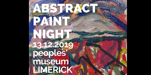 Abstract Paint night in Limerick