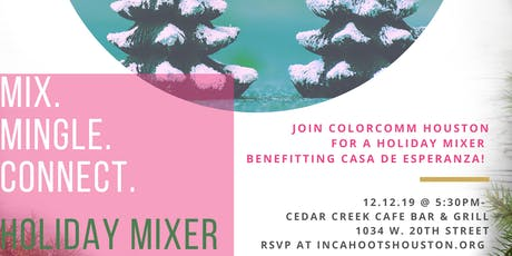 ColorComm Houston Presents: In Cahoots Holiday Mixer tickets