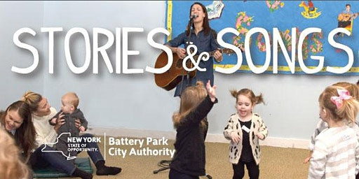 Stories and Songs - Session 3: (11:20 am to 12pm) ages 6 mos. to 3.5 years