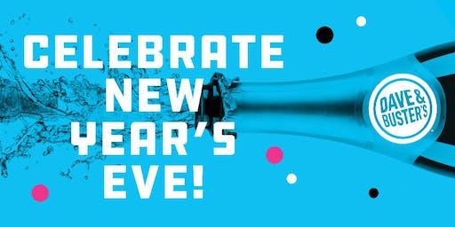 18+ NYE Celebration 2020 Dave & Buster's, Carlsbad - LIVE MUSIC!