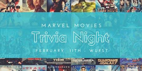 Marvel Movies Trivia Night  tickets