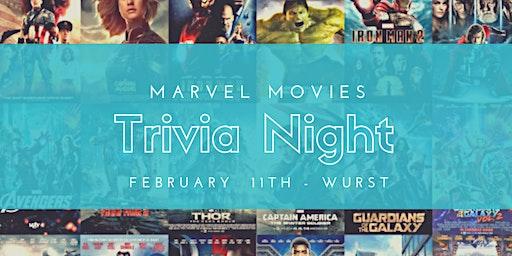 Marvel Movies Trivia Night