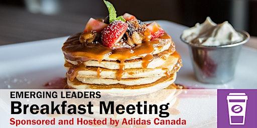 Emerging Leadership Breakfast Meeting with Adidas Canada