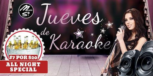 Jueves De Karaoke Ft. DJ Tony Banks