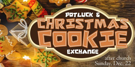 Christmas Cookie Exchange (& Potluck)