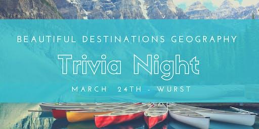 Geography 101 Trivia Night