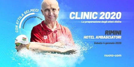 Nuoto•com Clinic 2020 con Attila Selmeci biglietti