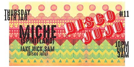 Disco Juju #11 tickets
