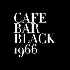 Cafe Bar Black1966 logo