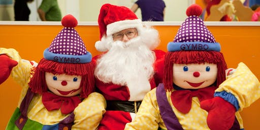 Winter Wonderland Party with Santa at Gymboree