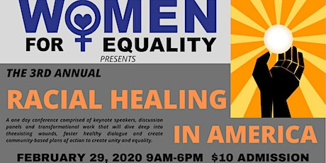The 3rd Annual Racial Healing in America Conference tickets