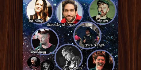 Cosmic Comedy Club with Free Vegetarian & Vegan Pizza & Shots tickets