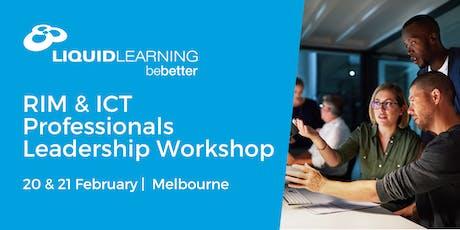 RIM & ICT Professionals Leadership Workshop tickets