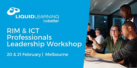 RIM & ICT Professionals Leadership Workshop tickets