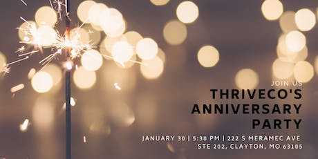 ThriveCo's First Anniversary Party tickets