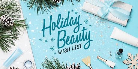 Amazon Holiday Beauty Wish List tickets