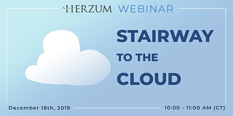 Stairway to the Cloud - Webinar tickets