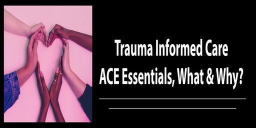 Trauma Informed Care: ACE Essentials, What & Why? January 9th, 2020 8:30 AM - 11:45 AM